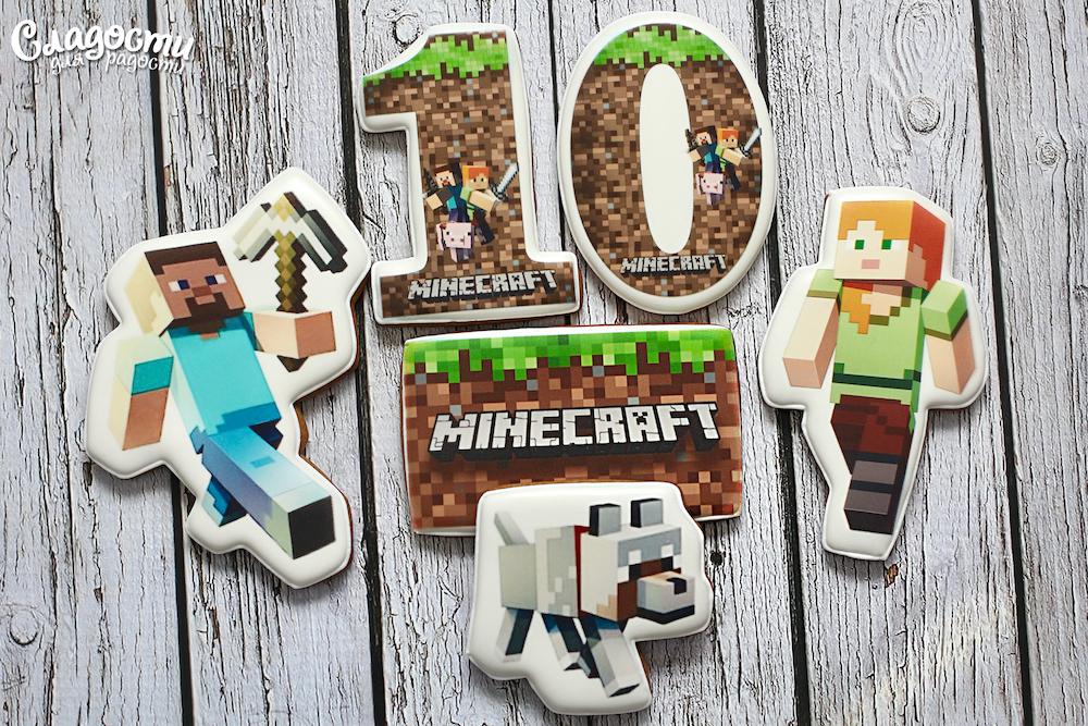 """Набор пряников """"Minecraft"""""""