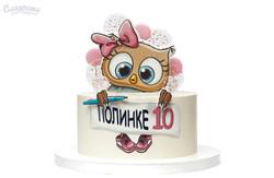 Торт с совой Киев
