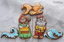 """Набор пряников """"Золотая рыбка"""""""