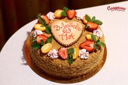 Торт для учителей