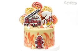 """Торт """"Пожарная машина"""""""