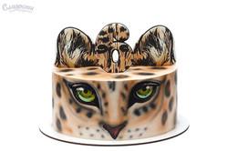 Торт с леопардом Киев