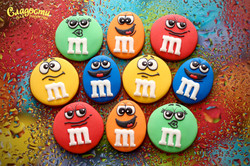 Имбирные пряники M&M'S