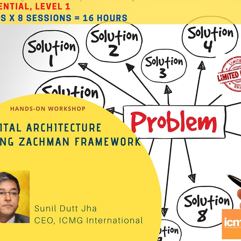 Digital Architecture Workshop, (Essential Level 1) 23 March - 01 April