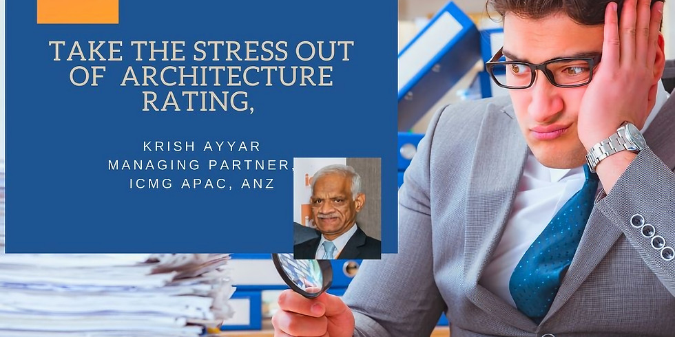Webinar : Take The Stress Out of Architecture Rating - Part 2