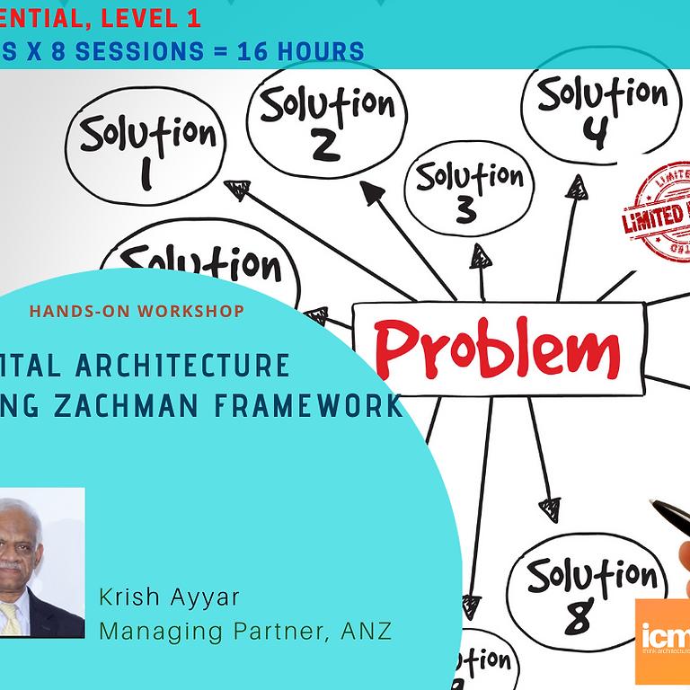 Digital Architecture Workshop, (Essential Level 1), 23 March - 01 April