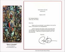 Obama Letter to Lena Medeiros version 2 framed.jpg