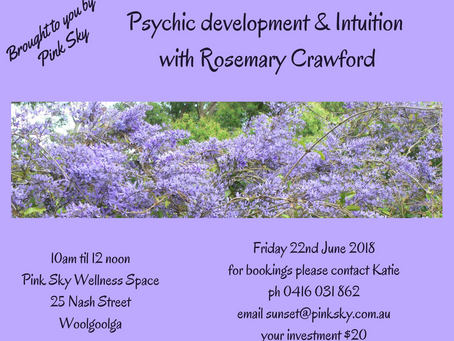 Psychic Development & Intuition Classes