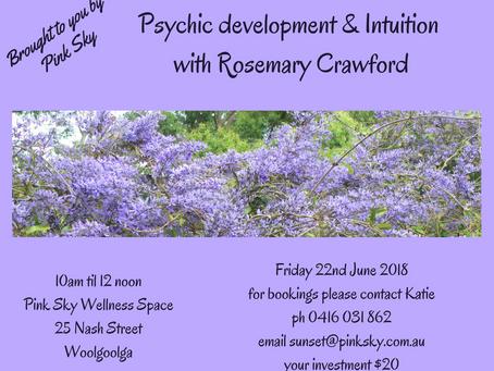 Psychic Development & Intuition Classes