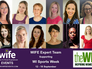 WIFE team supports the Women's Institute for the first ever fitness week.
