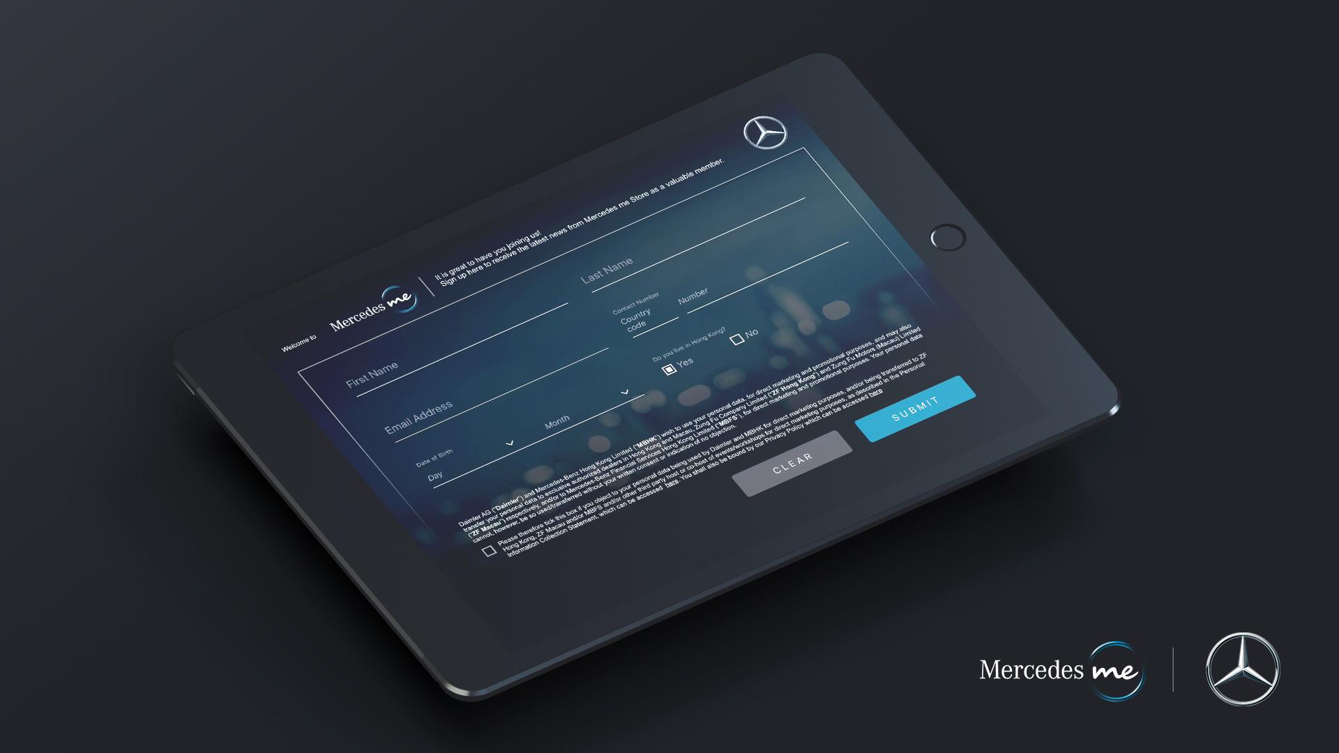 Mercedes-Benz Mercedes me Store App