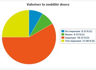 Les résultats du sondage en ligne