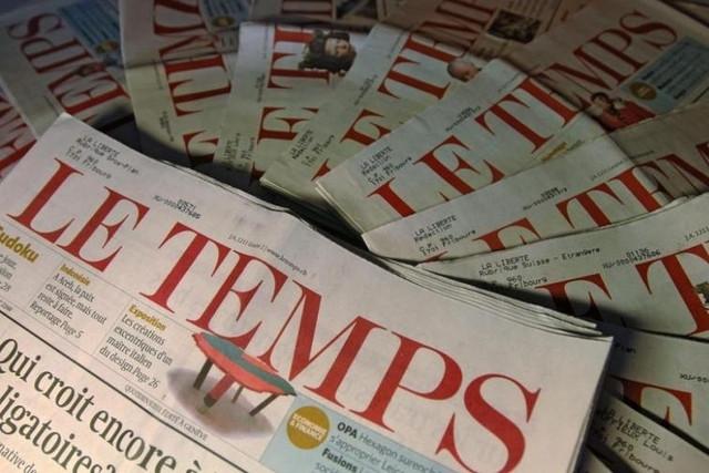Télécharger l'article du Temps au format PDF