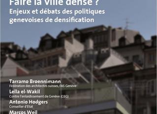 Conférence sur la densification à Genève