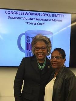 Congresswoman Beatty and Sherry