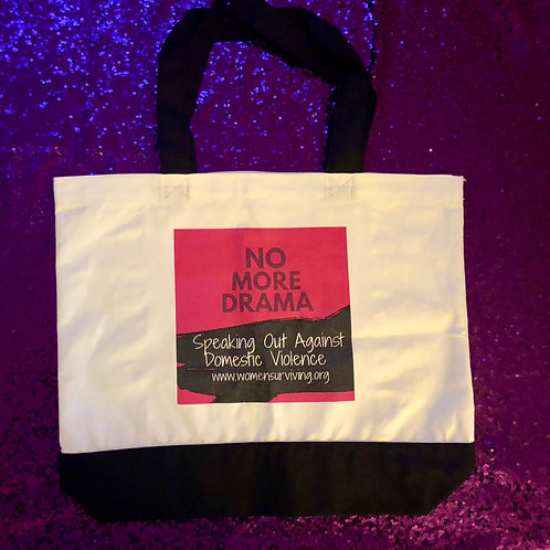 No More Drama Tote Bag