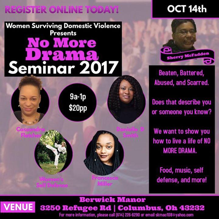 No More Drama Seminar 2017