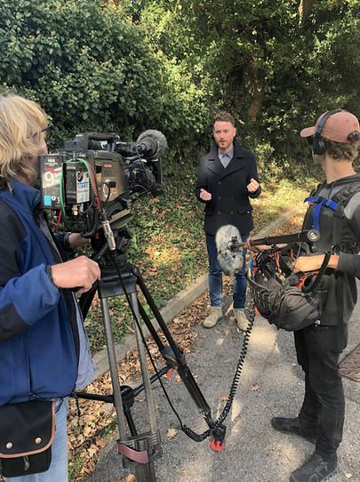 kerr_drummond_filming_presenter_tv_coast