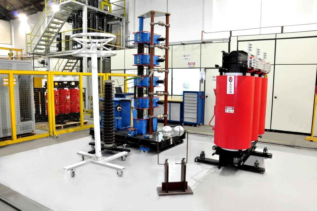 Laboratório (vista parcial)