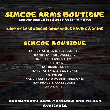 Simcoe Arms Boutique