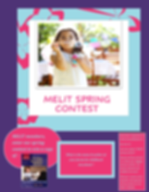 MELIT Spring Contest poster.png