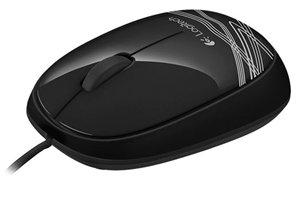 Logitech M105 USB Mouse - Black