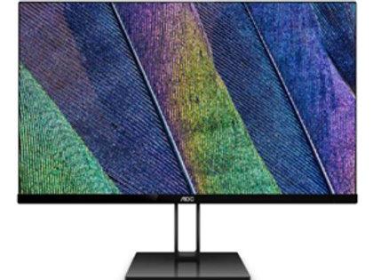 "AOC 24V2Q 24"" 16:9 1920x1080 FHD IPS 75Hz Freesync Ultra Slim Monitor"