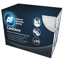 AF Cardclene Swipe / Entry Machine Cleaners - 20 Pack
