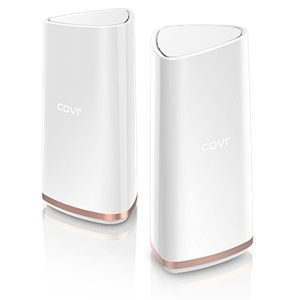 D-LINK COVR-2202 POWERFUL AC2200 TRI-BAND MESH WI-FI AND 11AC WAVE 2 WITH MU-MIM