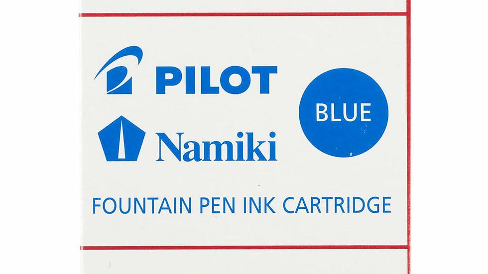 Pilot Fountain Pen Ink Cartridge Blue 6Pk (IC-50-L)