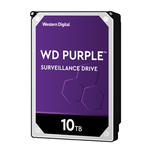 WD Purple 10TB SATA3 256MB Cache 7200RPM Surveillance Hard Drive
