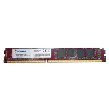 Adata 4GB 512x8 DDR3L 1600 VLP DIMM low voltage Lifetime wty