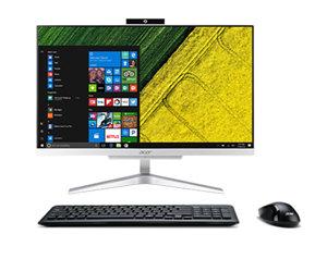 """Acer Aspire C24-320 23.8"""" FHD A6-9220e 8GB 256GB SSD 2TB AIO W10Home"""