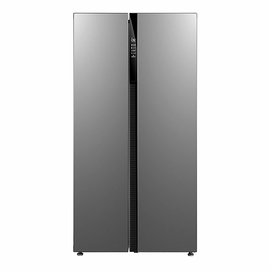 Midea 584L Fridge Freezer Stainless Steel JHSBSINV584G2