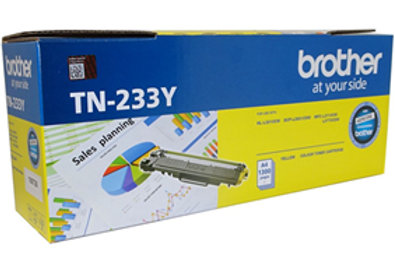 Brother TN-233Y Yellow Toner Cartridge