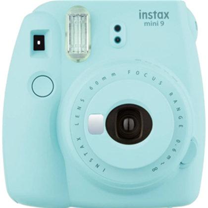 Fujifilm Instax Mini 9 Camera Ice Blue w/10 Pack Film