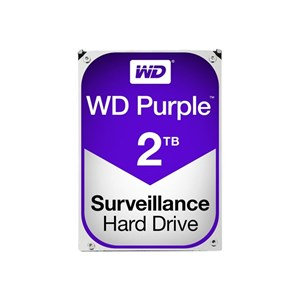 WD PURPLE 2TB SATA3 64MB CACHE HARD DRIVE
