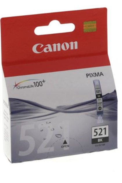 Canon CLI521 Black Ink Cartridge Bad Box