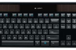 Logitech K750r Wireless Solar Keyboard - Black