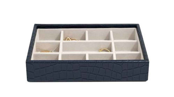 STACKERS CLASSIC MINI 11 COMPARTMENT LAYER NAVY CROC
