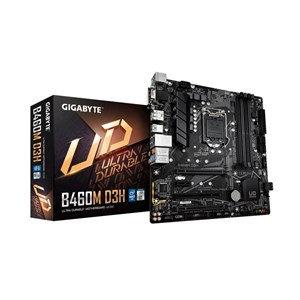 GIGABYTE B460M D3H (LGA1200/Intel/B460/Micro ATX/Dual M.2/SATA 6Gb/s,/USB 3.2 Ge