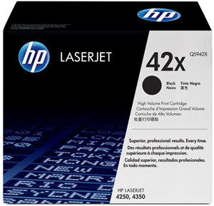 HP 42X Black High Yield Toner