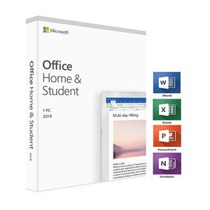 MICROSOFT OFFICE HOME AND STUDENT 2019 ENGLISH MEDIALESS