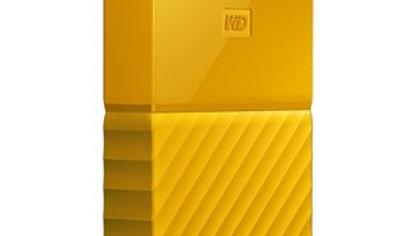 WD MY PASSPORT 4TB USB 3.0 EXTERNAL HDD YELLOW