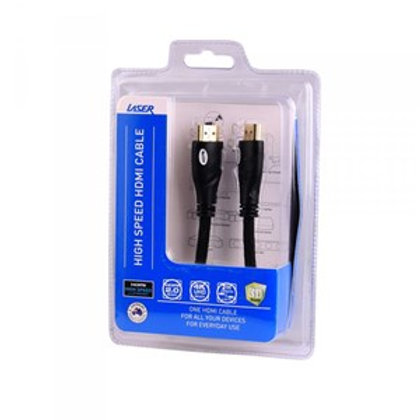 LASER 2M 1080P HDMI CABLE