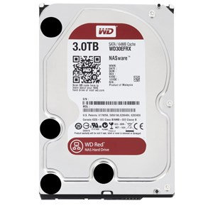 WD RED 3TB SATA3 64MB CACHE FOR NAS