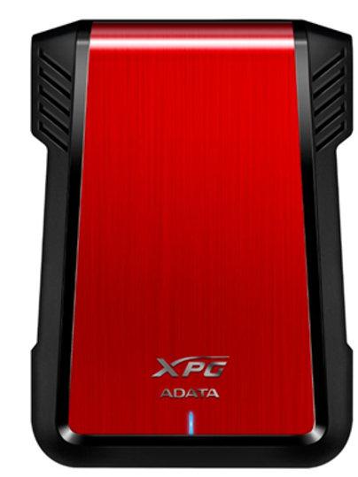"""ADATA XPG EX500 SATA USB 3.0 2.5"""" External HDD Enclosure - Red"""
