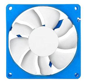 SilverStone FW81 80mm PWM Case Fan 4pin Blue/White