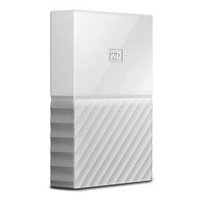 WD MY PASSPORT 4TB USB 3.0 EXTERNAL HDD WHITE