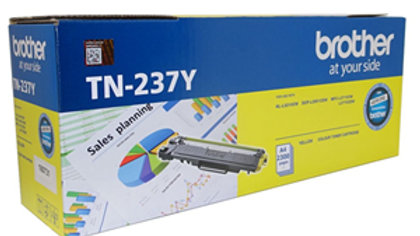 Brother TN-237Y Yellow High Yield Toner Cartridge